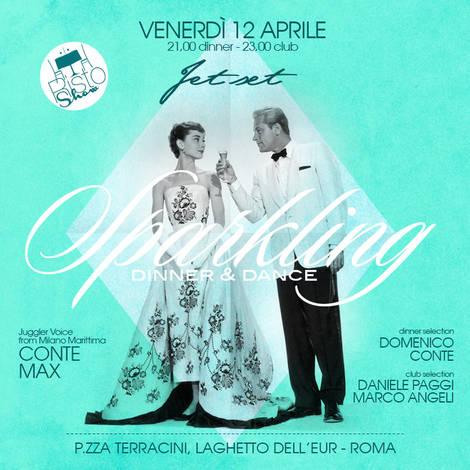 JET SET ROMA Venerdi 12 Aprile Cena Spettacolo Roma Discoteca