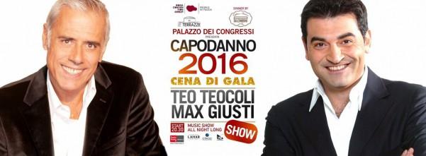 Teo Teocoli e Max Giusti